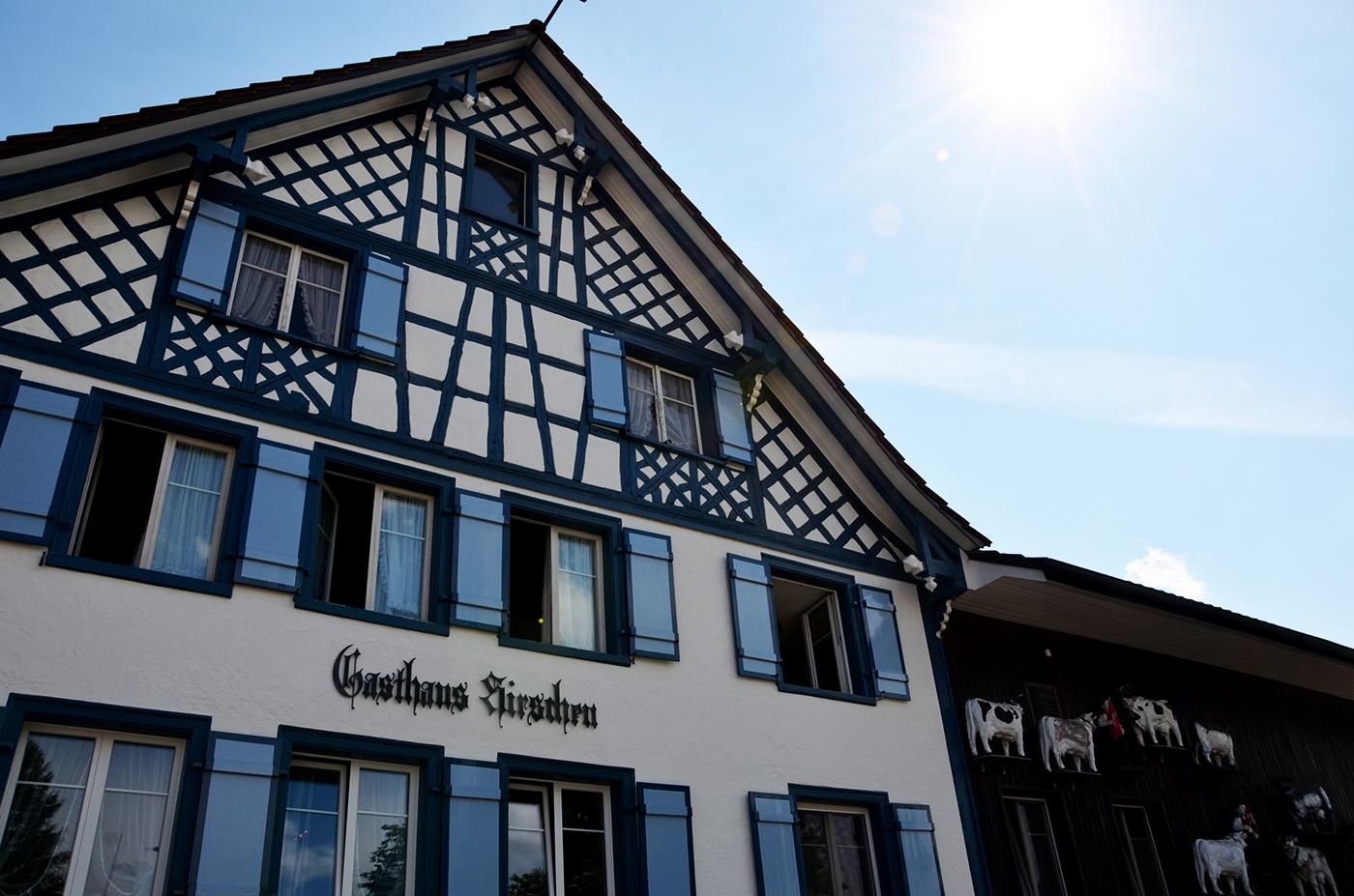 Aussenansicht Restaurant Hirschen in Märwil
